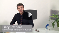 Milestones in English: Preparing for academic study