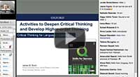 Deepening Critical Thinking Skills Webinar - James Dunn