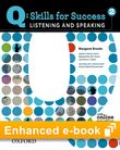 Q Skills for Success Listening and Speaking 2 e-book with Online Practice cover