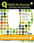 Q Skills for Success Listening and Speaking 3 e-book with Online Practice cover
