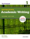 Effective Academic Writing Second Edition 1 Student Book cover