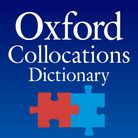 Oxford Collocations Dictionary for students of English - iOS app cover