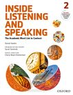Inside Listening and Speaking Level Two Student Book cover
