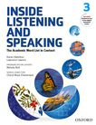 Inside Listening and Speaking Level Three Student Book cover