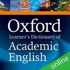 Oxford Learner's Dictionary of Academic English Online (1 year's access) cover