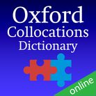 Oxford Collocations Dictionary Online (1 year's access) cover