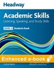 Headway Academic Skills 2 Listening, Speaking and Study Skills e-book cover