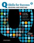 Q Skills for Success Reading and Writing 2 Student Book with Online Practice cover