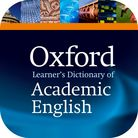 Oxford Learner's Dictionary of Academic English iOS app cover