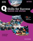 Q Skills for Success Intro Level Reading & Writing Student Book with iQ Online cover