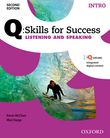 Q Skills for Success Intro Level Listening & Speaking Student e-book with iQ Online cover
