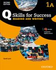 Q Skills for Success Level 1 Reading & Writing Split Student Book A with iQ Online cover