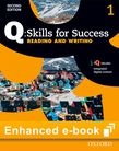 Q Skills for Success Level 1 Reading & Writing Student e-book with iQ Online cover