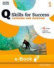 Q Skills for Success Level 1 Listening & Speaking e-book cover