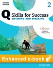 Q Skills for Success Level 2 Listening & Speaking Student e-book with iQ Online cover