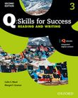 Q Skills for Success Level 3 Reading & Writing Student Book with iQ Online cover