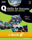 Q Skills for Success Level 3 Reading & Writing e-book cover