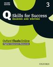 Q Skills for Success Level 3 Reading & Writing iTools Online (CPT) access code cover