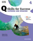Q Skills for Success Level 4 Listening & Speaking Student Book with iQ Online cover