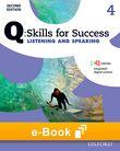 Q Skills for Success Level 4 Listening & Speaking e-book cover