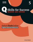 Q Skills for Success Level 5 Reading & Writing iTools Online (CPT) access code cover