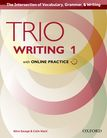 Trio Writing Level 1 Student Book with Online Practice cover