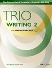 Trio Writing Level 2 Student Book with Online Practice cover