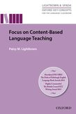 Focus on Content-Based Language Teaching e-Book for Kindle Focus On Content Based Language Teaching Mobi Format cover