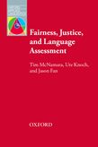 Fairness, Justice and Language Assessment (e-book) cover