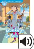 Oxford Read and Imagine Level 1 Monkeys in School Audio cover