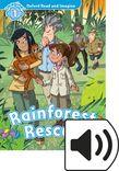 Oxford Read and Imagine Level 1 Rainforest Rescue Audio cover