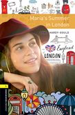 Oxford Bookworms Library Stage 1: Maria's Summer in London Audio cover