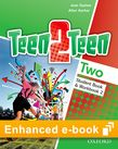 Teen2Teen Two Student Book & Workbook e-book cover