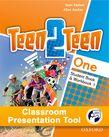 Teen2Teen One Student Book & Workbook Classroom Presentation Tool cover