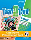 Teen2Teen Four Student Book & Workbook Classroom Presentation Tool cover