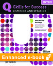 Q Skills for Success Listening and Speaking Intro e-book with Online Practice cover