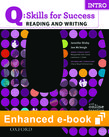 Q Skills for Success Reading and Writing Intro e-book with Online Practice cover