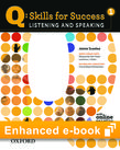 Q Skills for Success Listening and Speaking 1 e-book with Online Practice cover