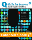 Q Skills for Success Reading and Writing 2 e-book with Online Practice cover