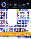 Q Skills for Success Listening and Speaking 4 e-book with Online Practice cover