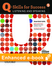 Q Skills for Success Listening and Speaking 5 e-book with Online Practice cover