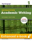 Effective Academic Writing Second Edition 1 e-book with Online Practice cover