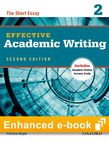Effective Academic Writing Second Edition 2 e-book with Online Practice cover