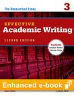 Effective Academic Writing Second Edition 3 e-book with Online Practice cover