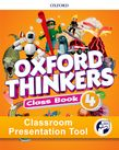 Oxford Thinkers Level 4 Class Book Classroom Presentation Tool cover