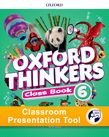 Oxford Thinkers Level 6 Class Book Classroom Presentation Tool cover