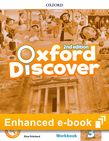 Oxford Discover Level 3 Workbook eBook cover