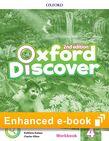 Oxford Discover Level 4 Workbook e-Book cover