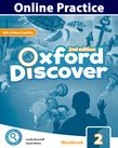 Oxford Discover Level 2 Online Practice cover