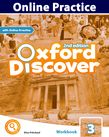 Oxford Discover Level 3 Online Practice cover